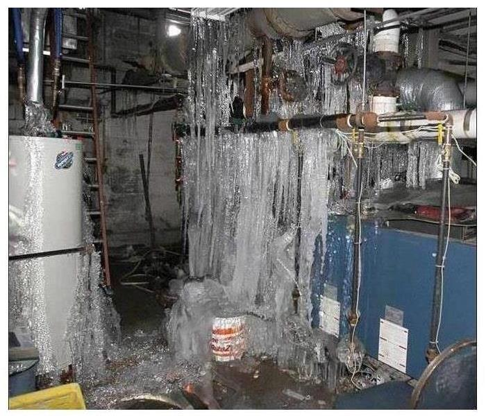 Water Damage Here's what to do if your pipes freeze